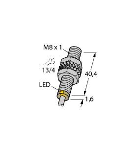 图尔克电感传感器BI1.5-EG08-AN6X