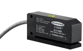 邦纳C-GAGE SLC1 系列卷标传感器