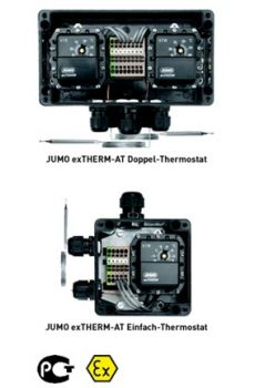 久茂JUMO ex-THERM-AT 表面安装防爆温度开关 (60.5055)