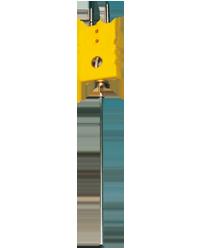 久茂铠装热电偶—带无热电势的标准扁平插头 (90.1240)