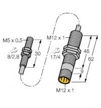 模拟量输出型电感传感器BI1.5-EH04-0.3-M12-SIU-H1141