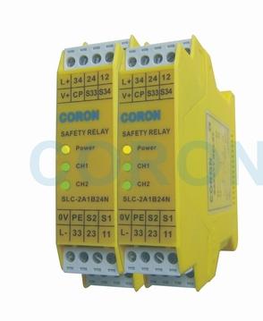台湾超荣CORON安全继电器SLC-2A1B24N