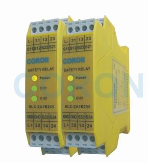 超荣CORON安全继电器SLC-2A1B24S